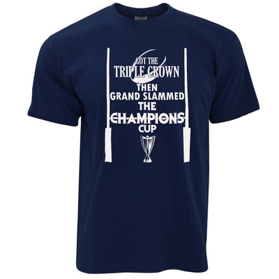 Triple Crown T Shirt Then Grand Slammed Champions Cup