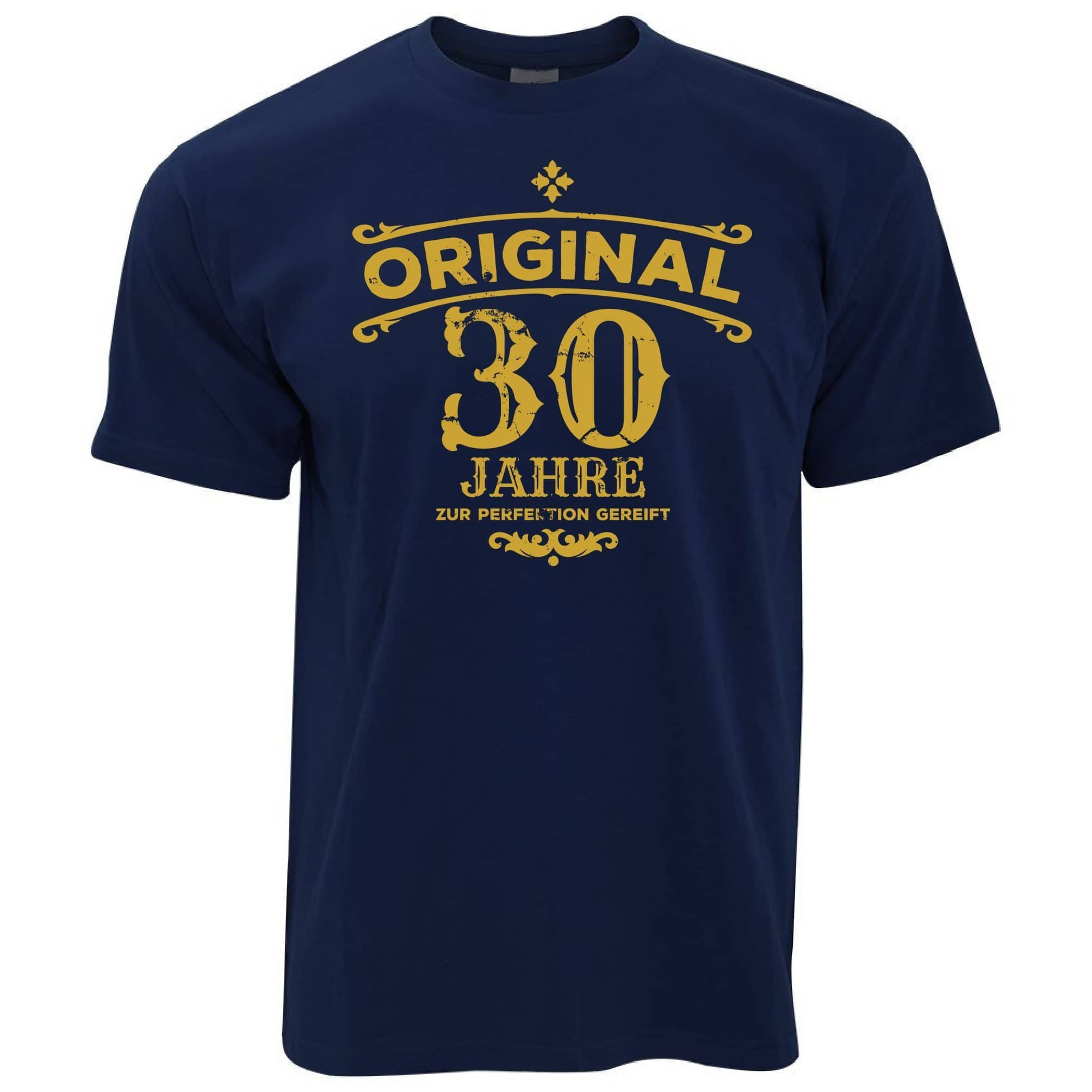 30th Birthday T Shirt Original Aged 30 Thirty Years