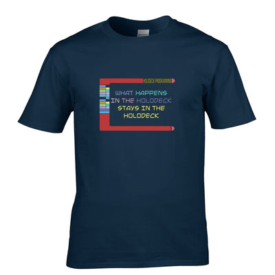 Sci-Fi T Shirt What Happens In The Holodeck
