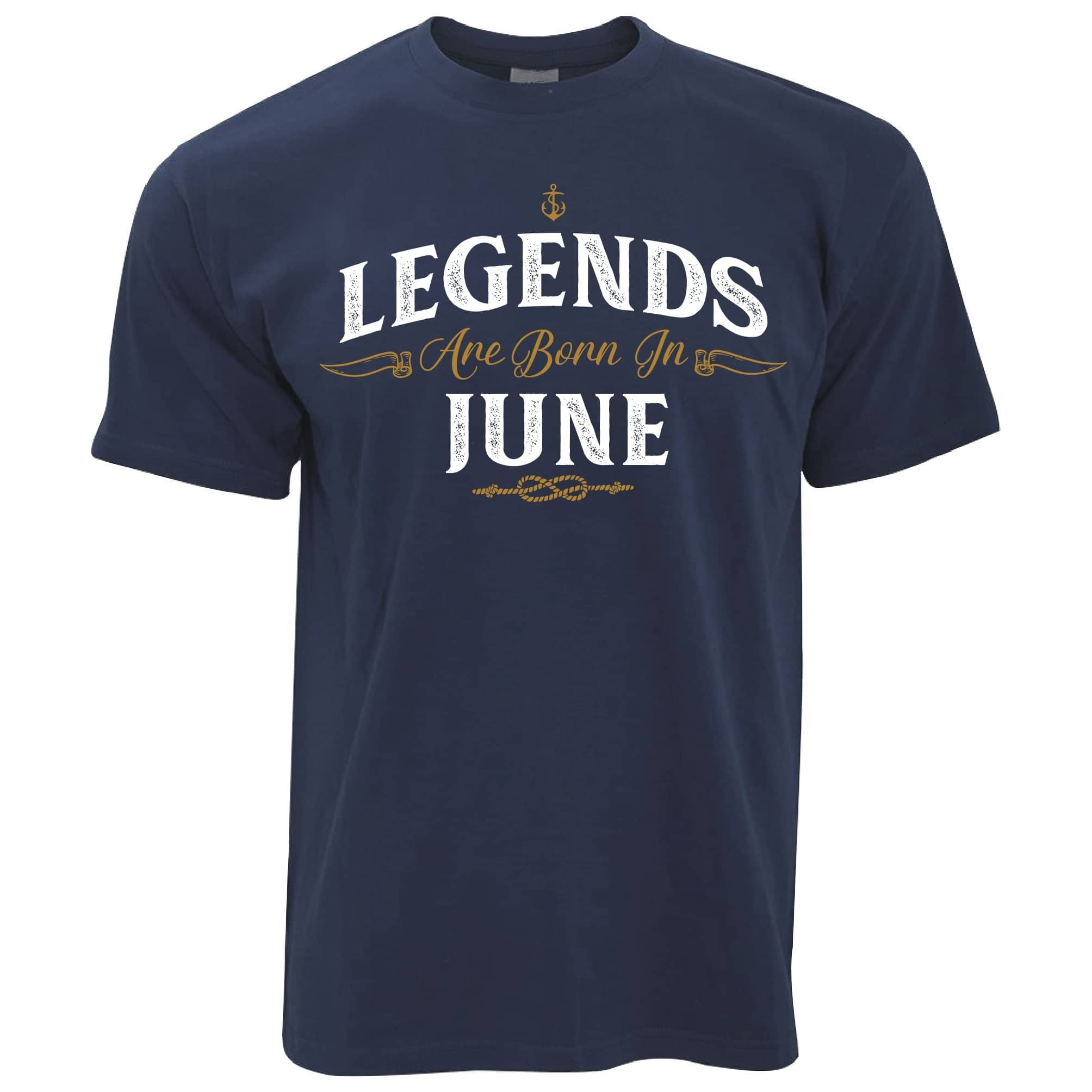Birthday T Shirt Legends Are Born In June