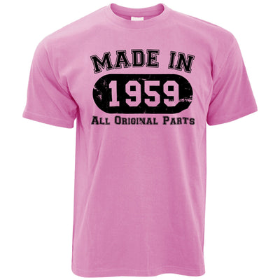 Made in 1959 All Original Parts Mens T-Shirt [Distressed]