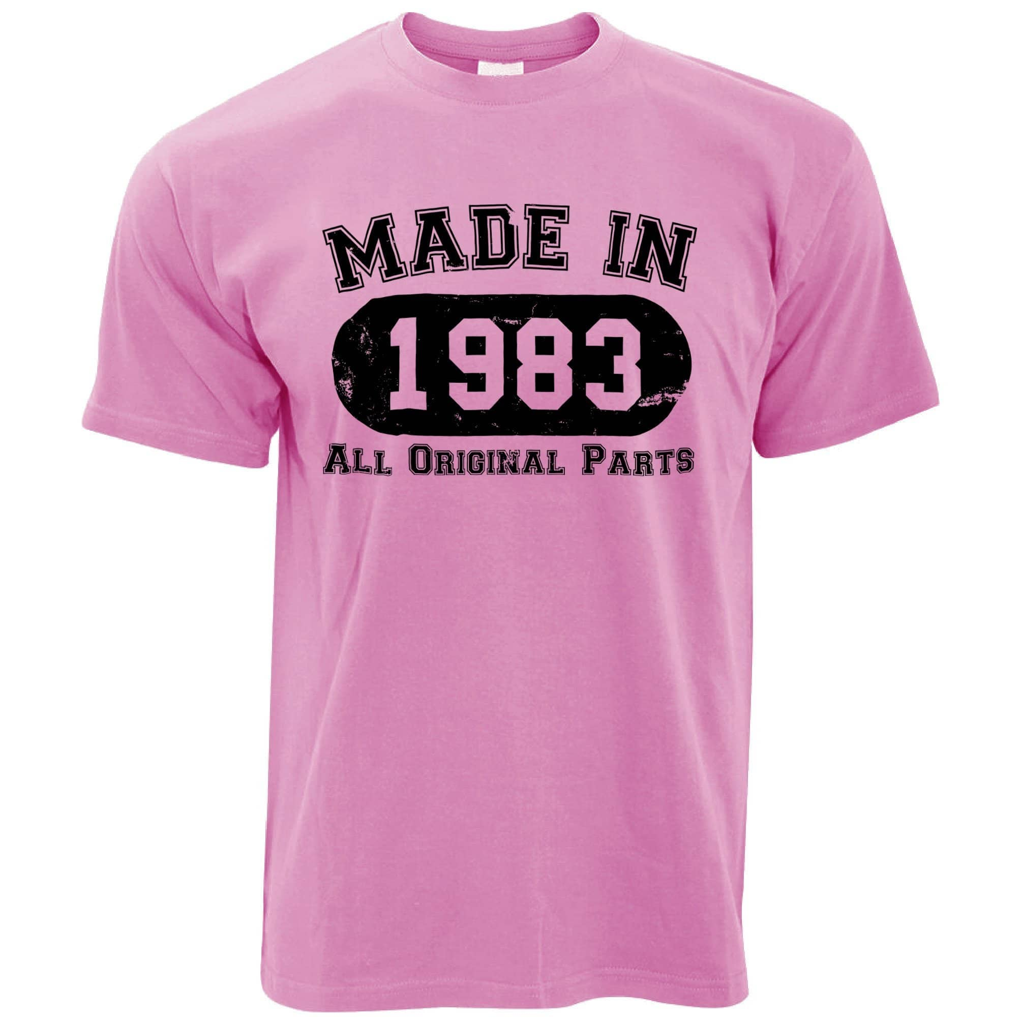 Made in 1983 All Original Parts Mens T-Shirt [Distressed]