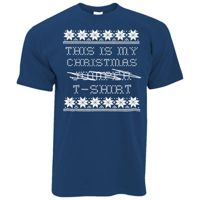 This Is My Christmas T Shirt Xmas Ugly Sweater Pattern