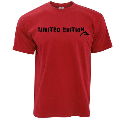 Novelty Slogan T Shirt I Am Limited Edition Arrow
