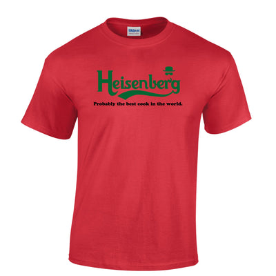 Mens Heisenberg T Shirt Probably The Best Cook In The World Tee