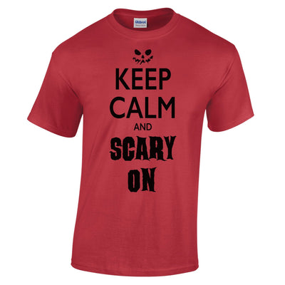 Halloween T Shirt Keep Calm And Scary On