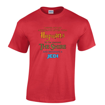 Hogwarts Shire Jedi Mens Geek T-Shirt