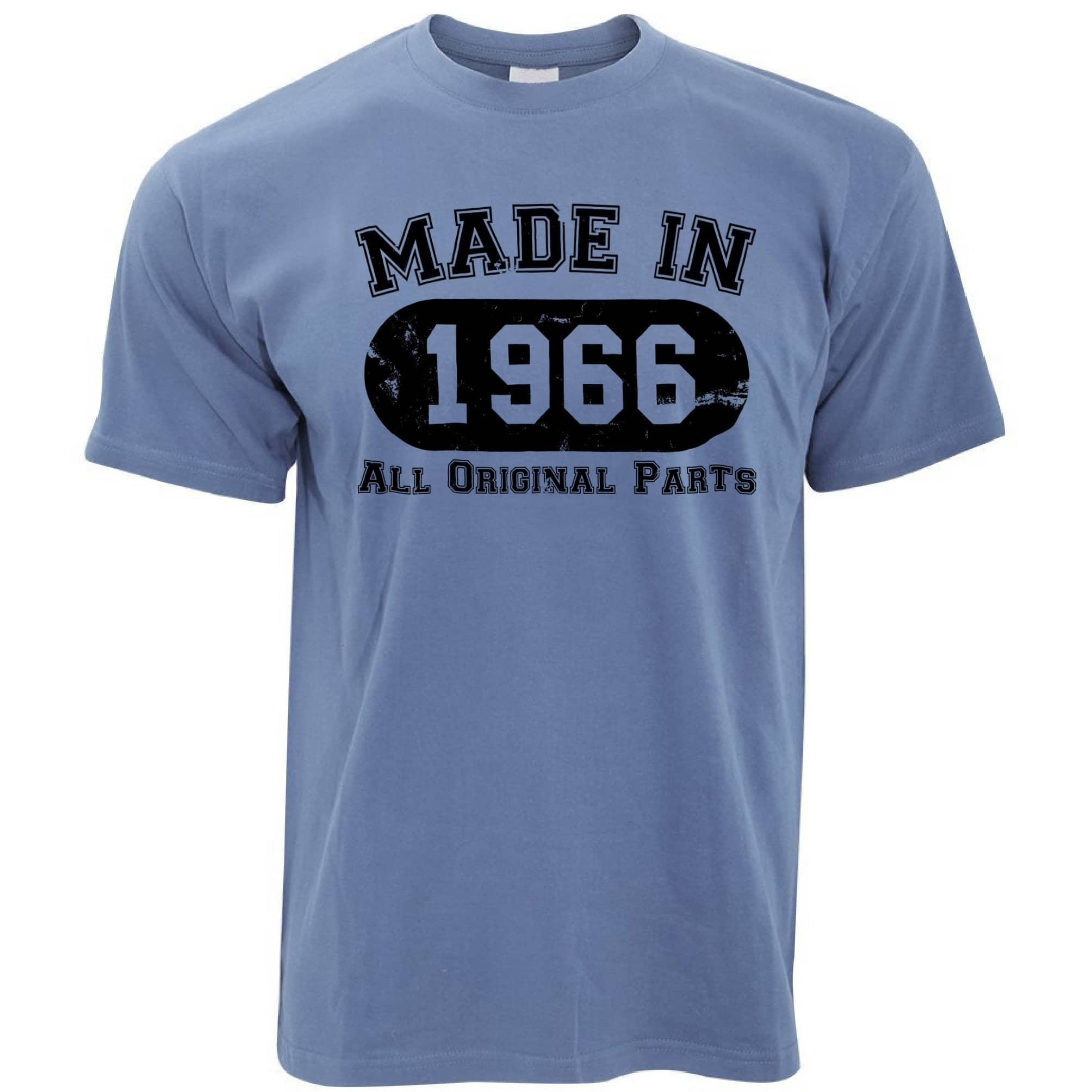 Made in 1966 All Original Parts Mens T-Shirt [Distressed]