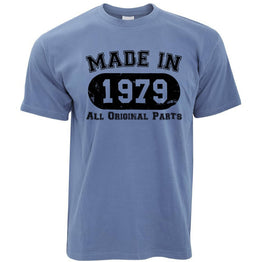Made in 1979 All Original Parts Mens T-Shirt [Distressed]