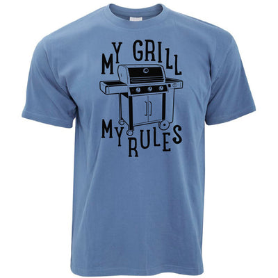 My Grill My Rules BBQ T Shirt