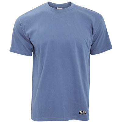Mens Crew Neck T-Shirt Tim and Ted Plain Logo Apparel