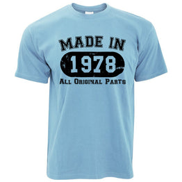 Made in 1978 All Original Parts Mens T-Shirt [Distressed]