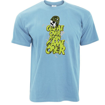 Hudson Quote T Shirt Game Over Man Inspired By Aliens Movie