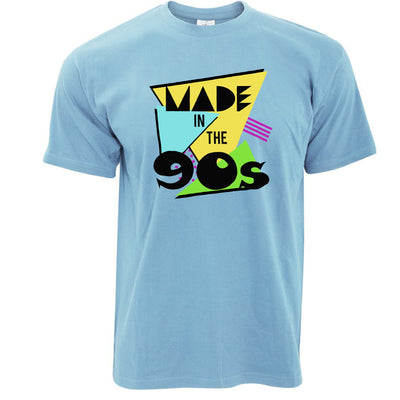 Retro Birthday T Shirt Made In The 90s