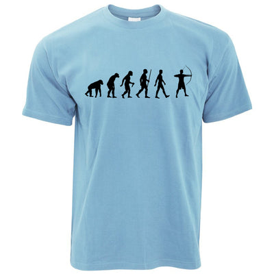 Novelty T Shirt The Evolution of Archery