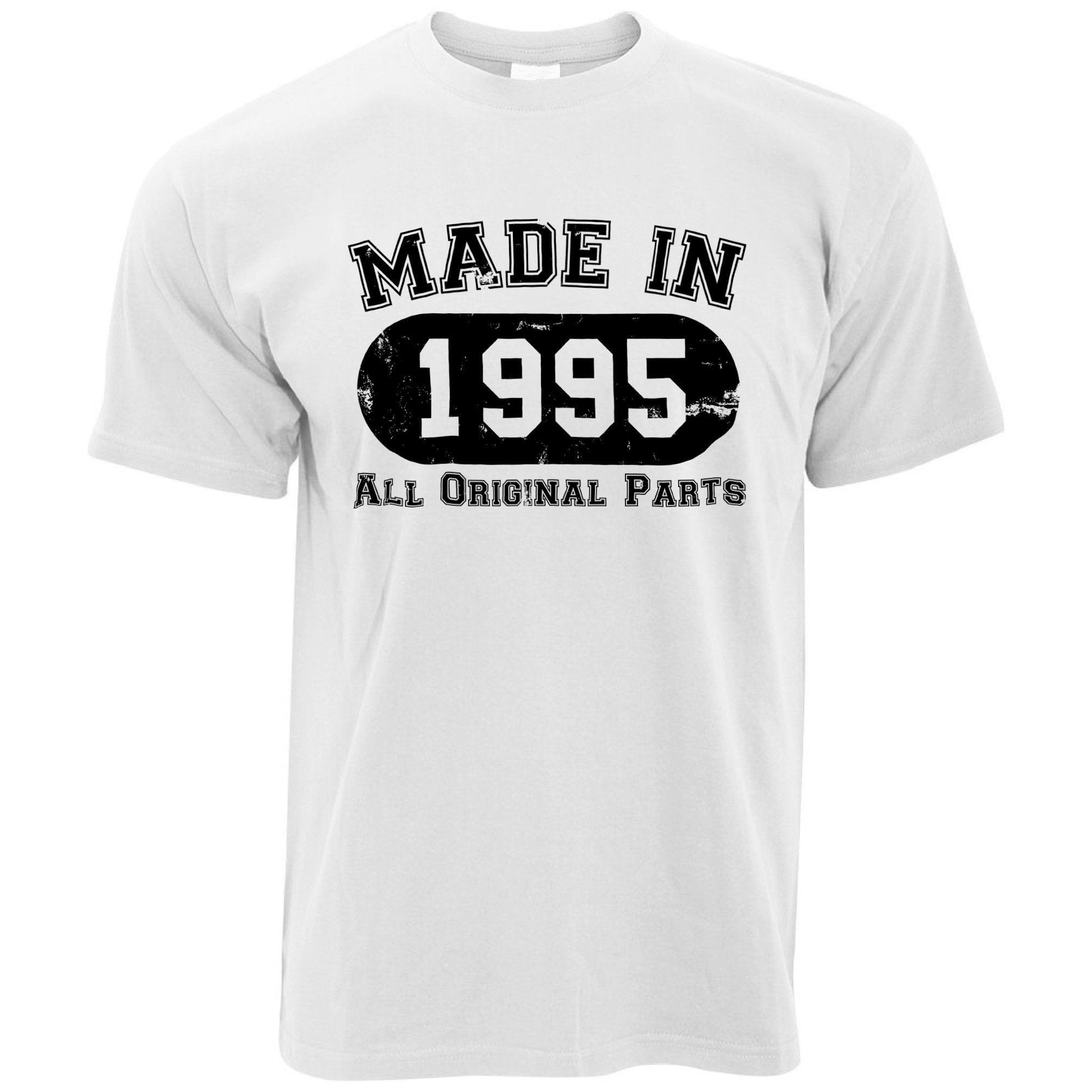 Made in 1995 All Original Parts Mens T-Shirt [Distressed]