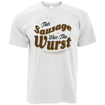 German T Shirt This Sausage Was The Wurst