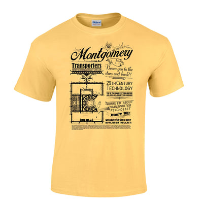 Montgomery Transport Device Mens T-Shirt