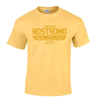 Nostromo Sci Fi Mens T-Shirt Inspired By Alien Movie