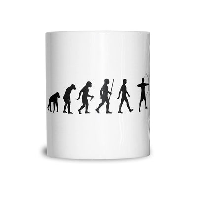 Novelty Mug The Evolution of Archery Coffee Tea Cup