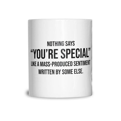 Valentines Day Tea Cup Mug You're Special Text