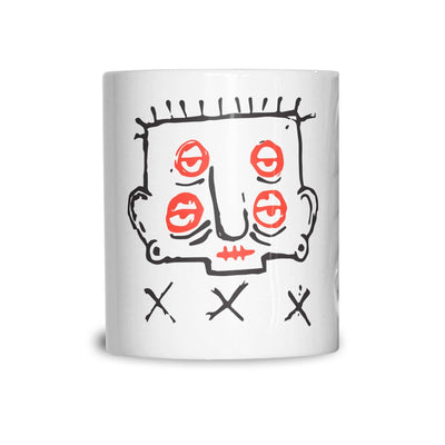Alcoholism Mug Grumpy Hangover Face Coffee Tea Cup
