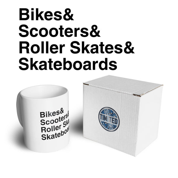 Shredding Mug The Skate Park List Coffee Tea Cup