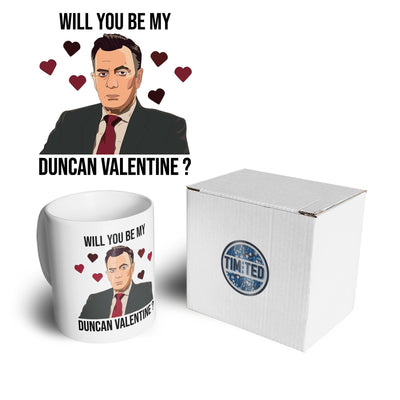 Valentine's Mug Be My Duncan Valentine Coffee Tea Cup