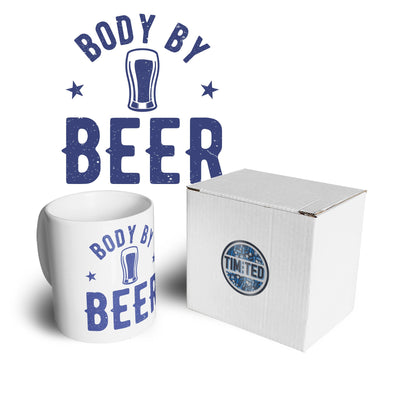 Novelty Pub Mug Body By Beer Joke Logo Coffee Tea Cup
