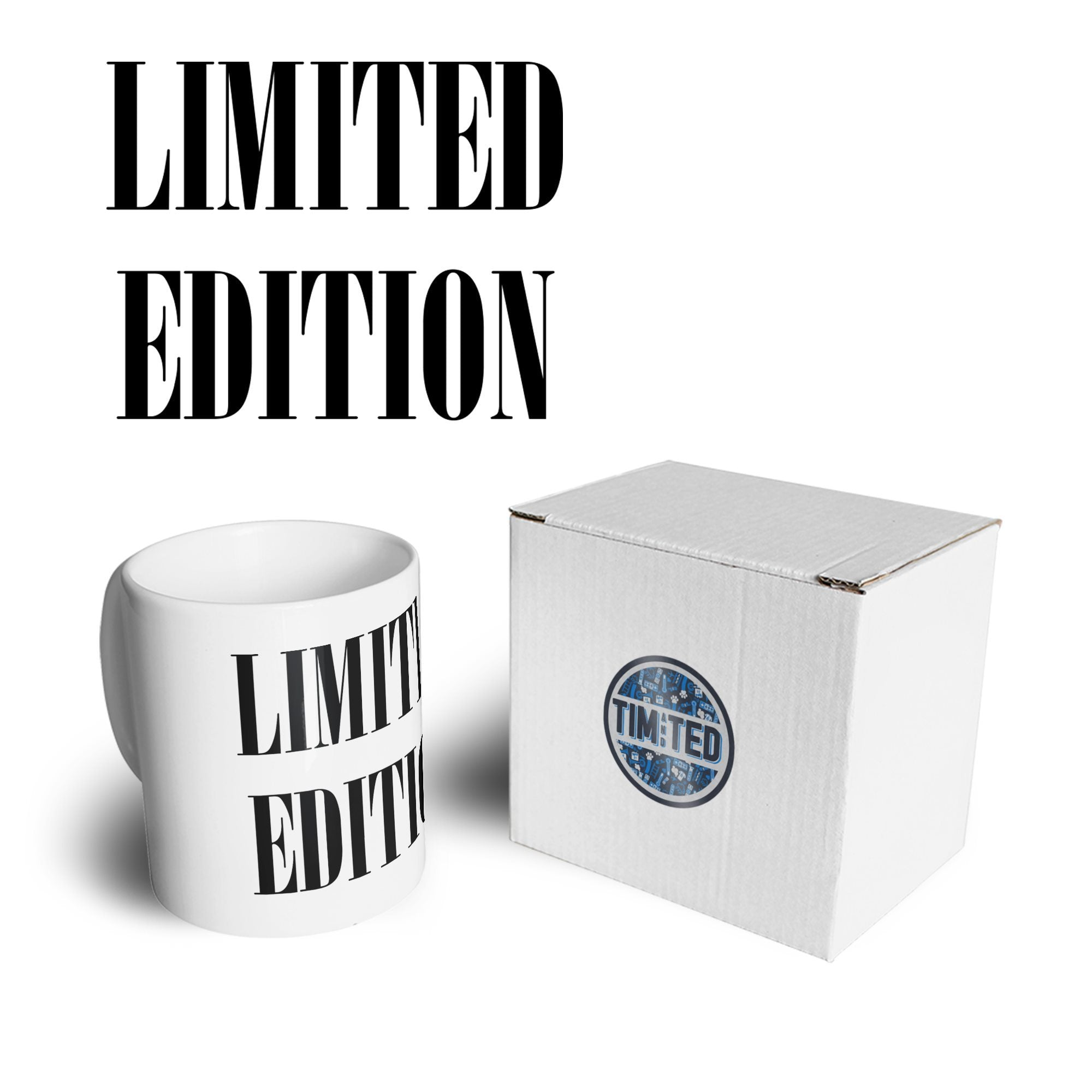 Novelty Birthday Slogan Mug Limited Edition Text Coffee Tea Cup