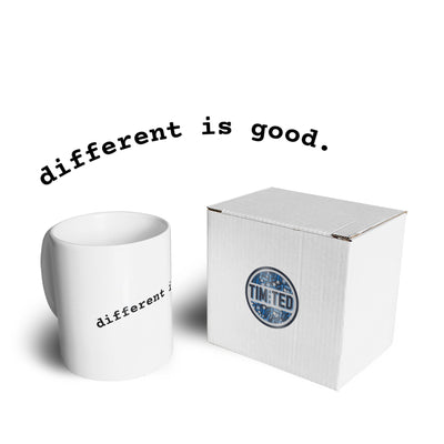 Novelty Slogan Mug Different Is Good Coffee Tea Cup