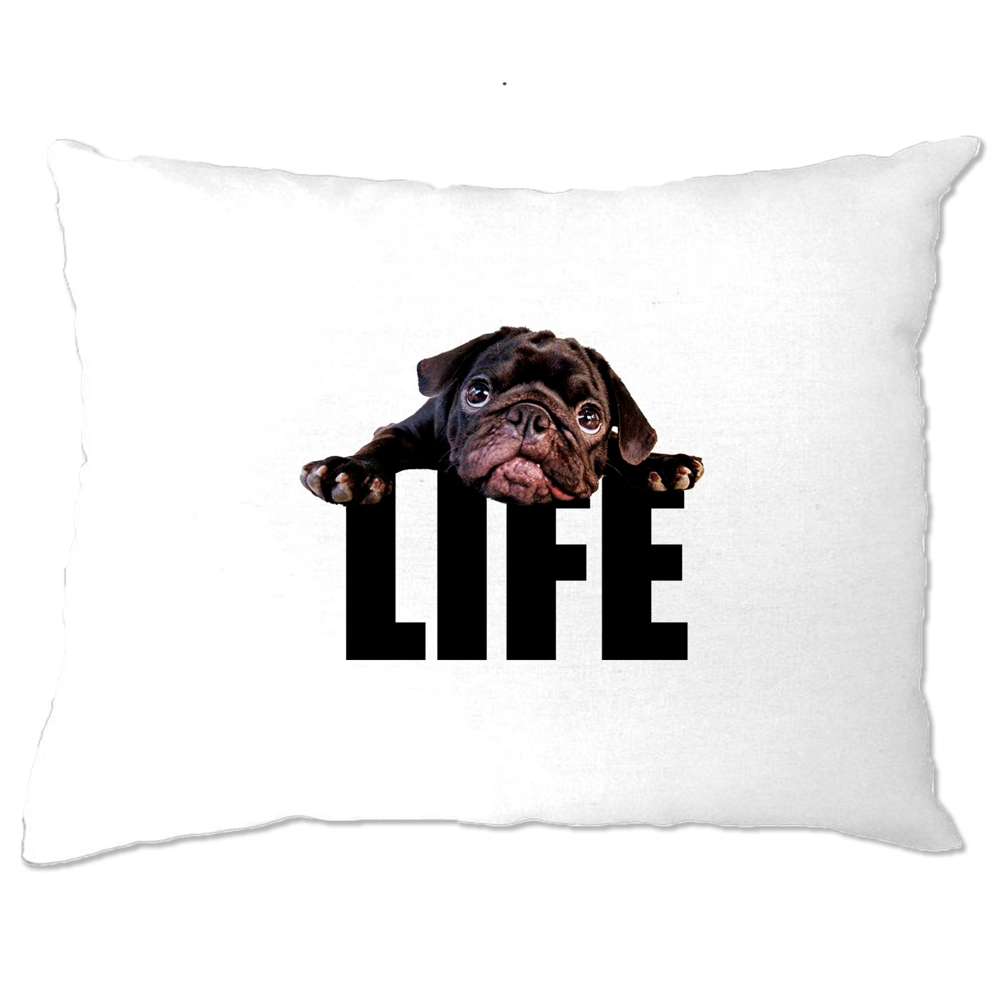 Cute Dog Pillow Case Pug Life Puppy