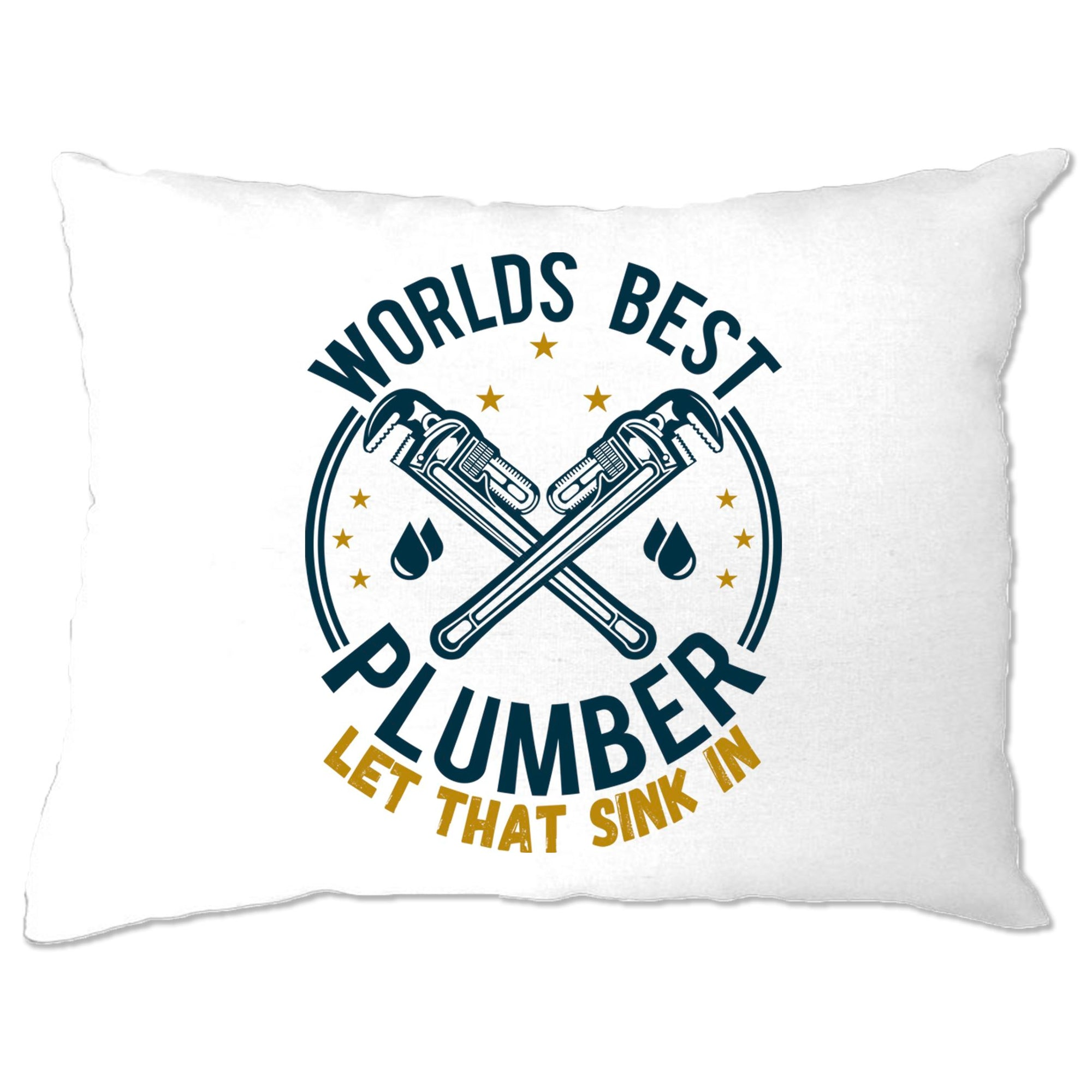 World's Best Plumber Pillow Case