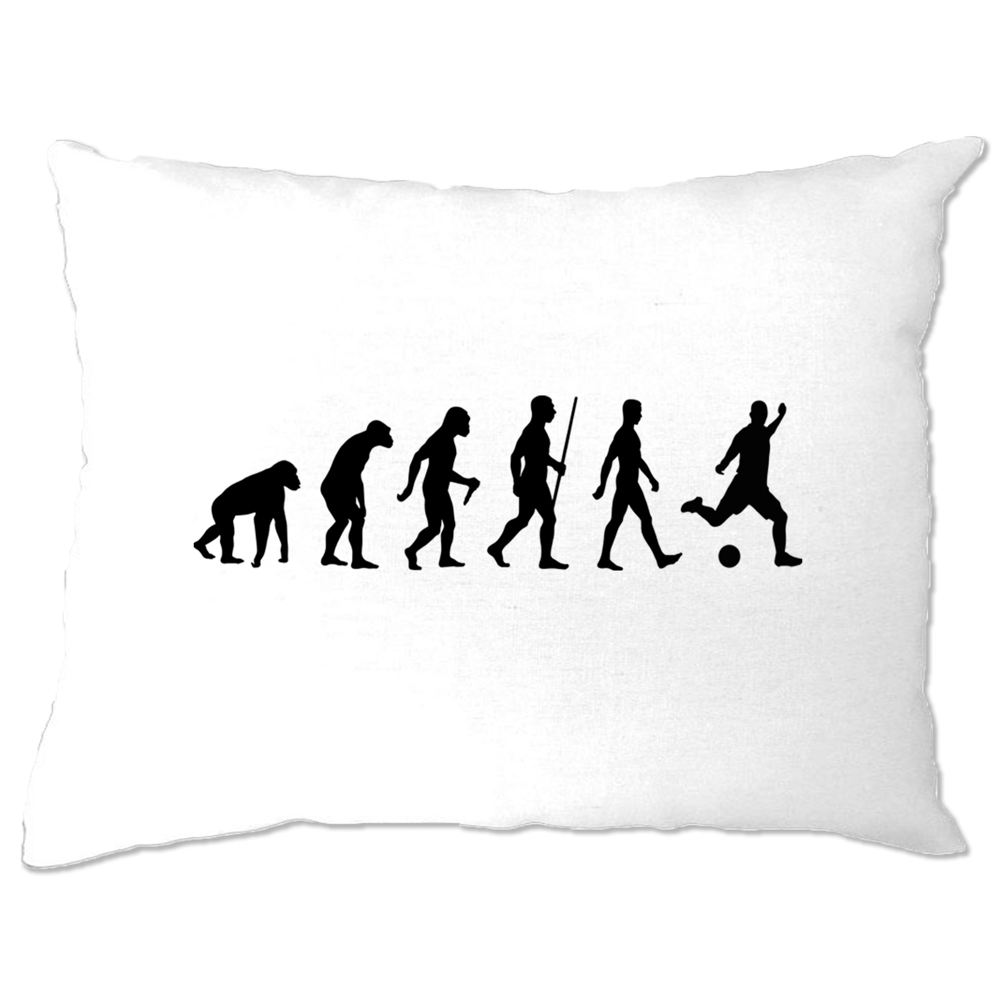 Football Fan Pillow Case The Evolution Of A Footballer