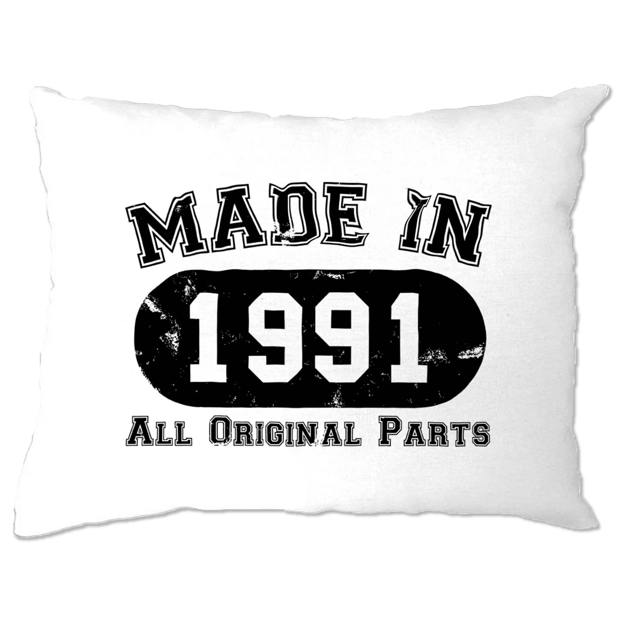 Made in 1991 All Original Parts Pillow Case [Distressed]