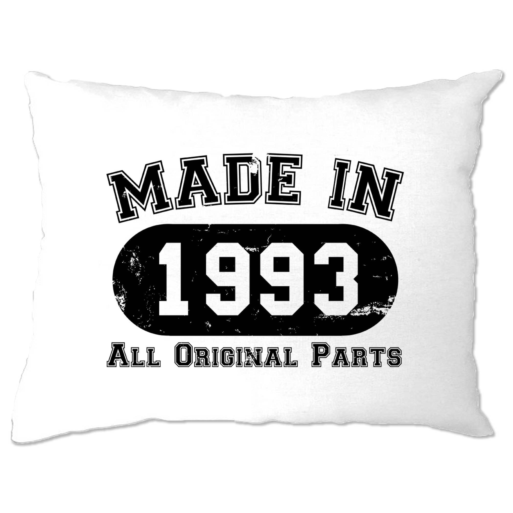 Made in 1993 All Original Parts Pillow Case [Distressed]