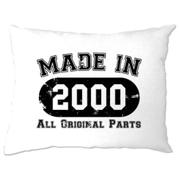 Made in 2000 All Original Parts Pillow Case [Distressed]