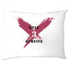 Squad Gaming Pillow Case Only 3 Survive Slogan