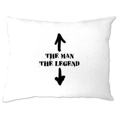 Cool Pillow Case The Man, The Legend Novelty Funny Slogan