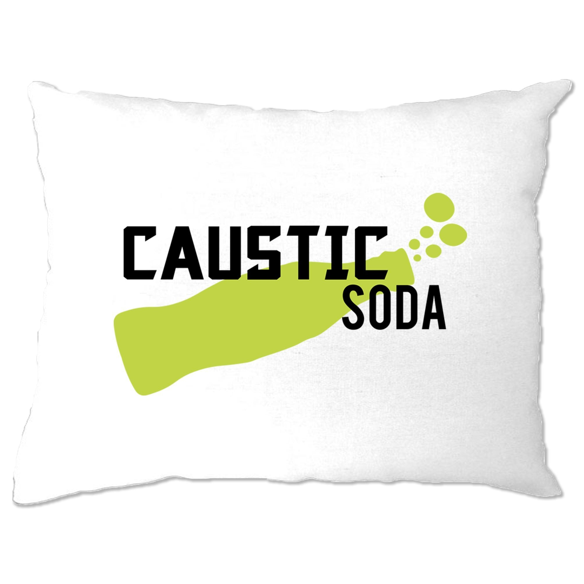 Novelty Gaming Pillow Case Caustic Soda Drink