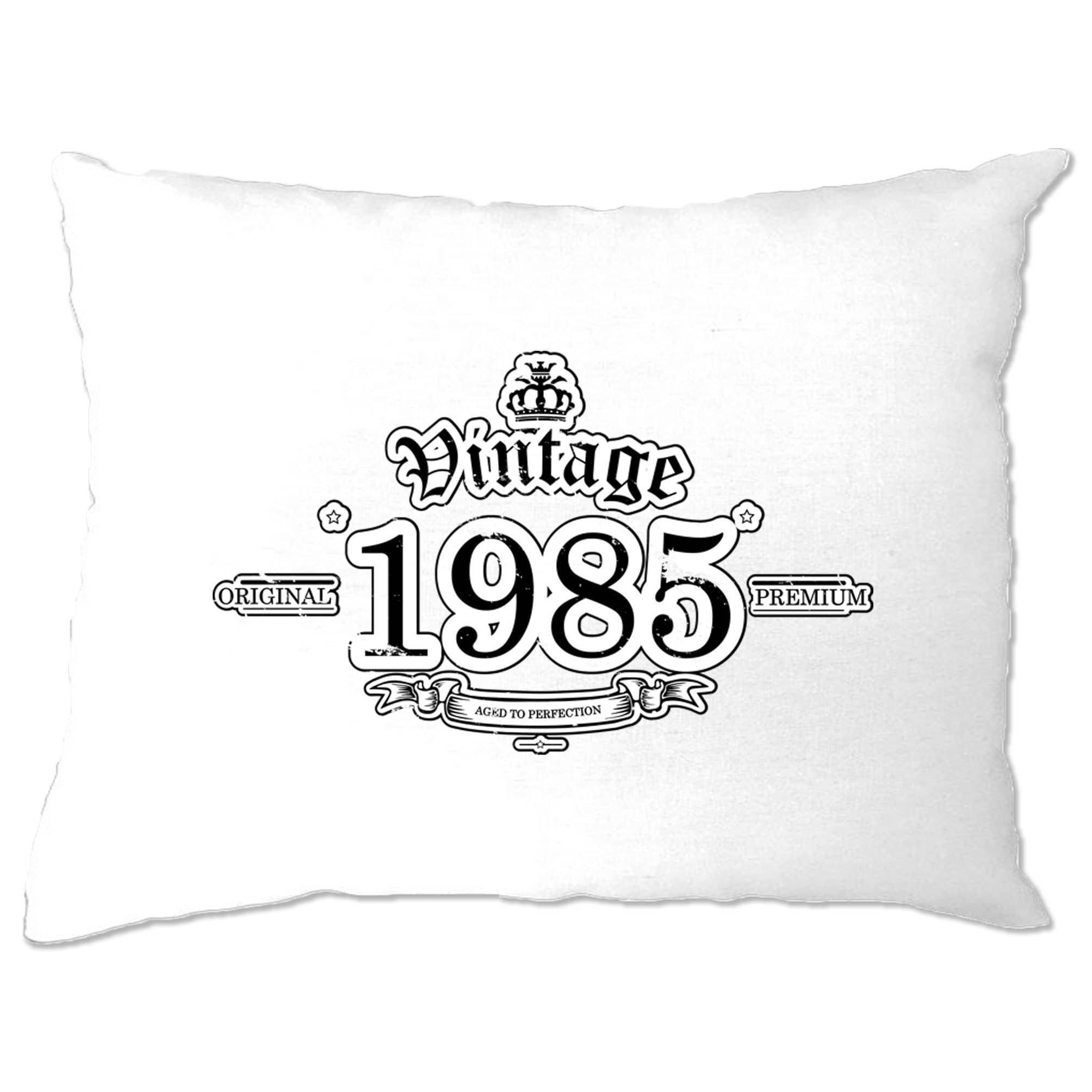 33rd Birthday Pillow Case Vintage 1985 Aged To Perfection