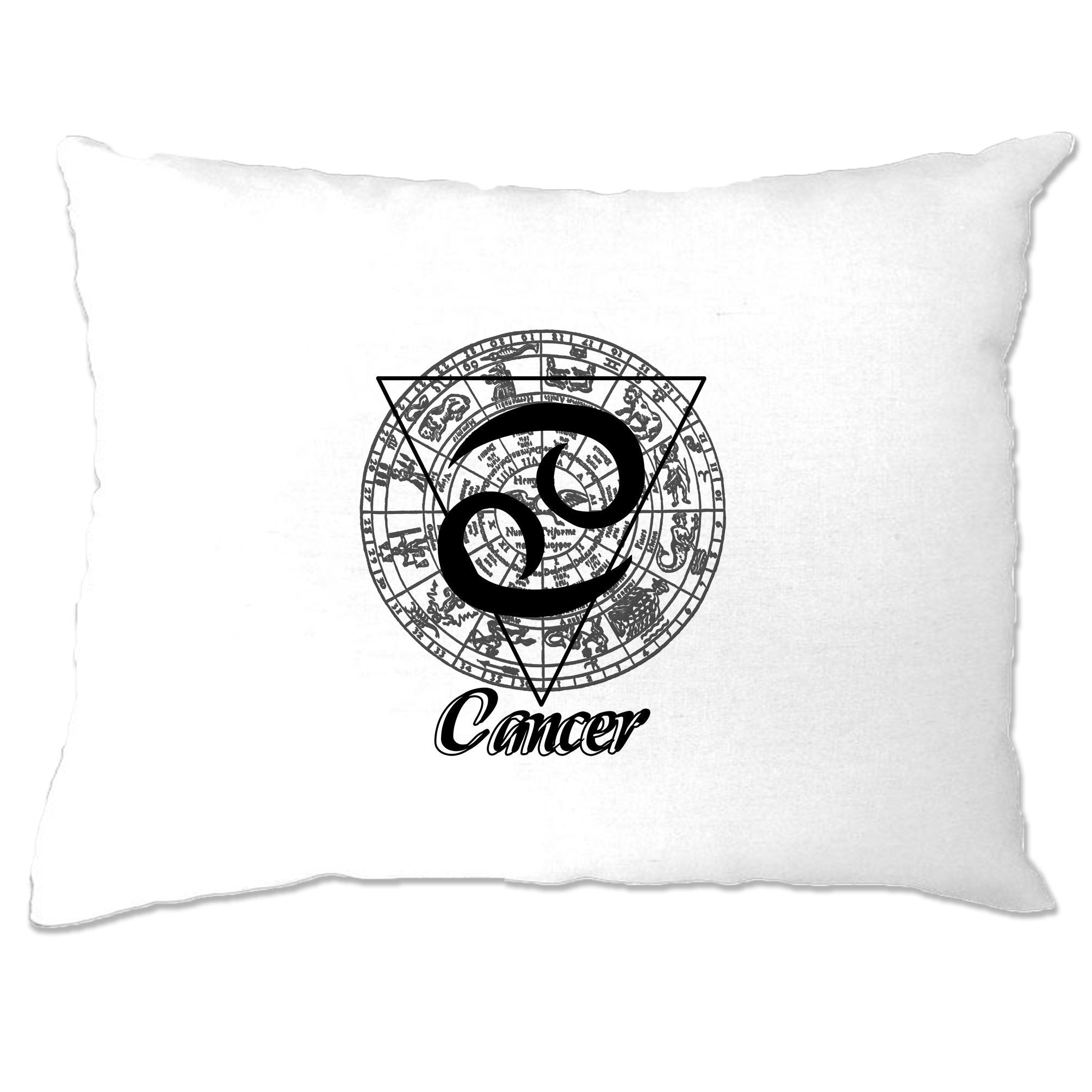 Horoscope Pillow Case Cancer Zodiac Star Sign Birthday