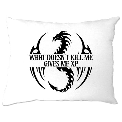 What Doesn't Kill Me Gives Me XP Pillow Case