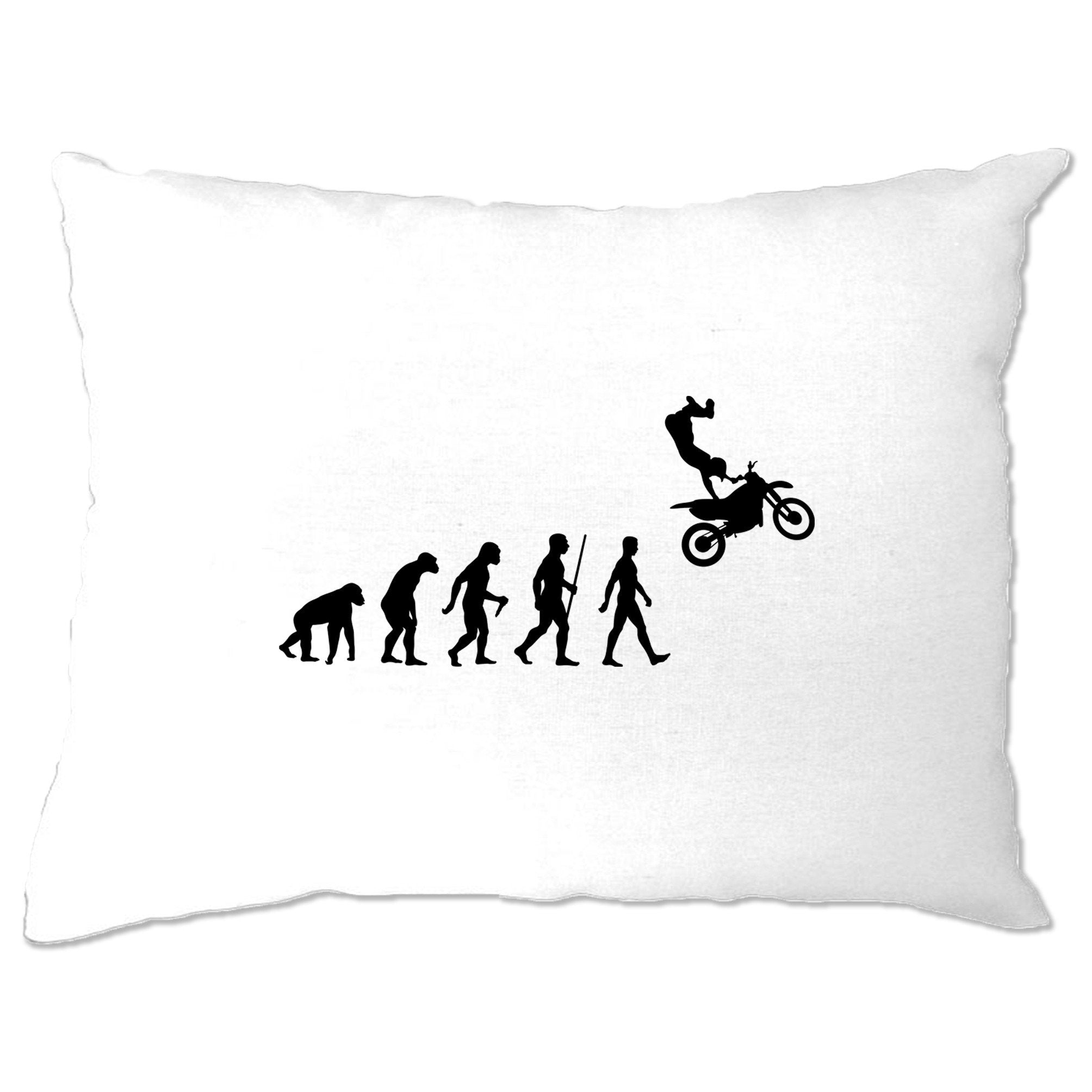 Sports Pillow Case The Evolution Of Motocross Jumping
