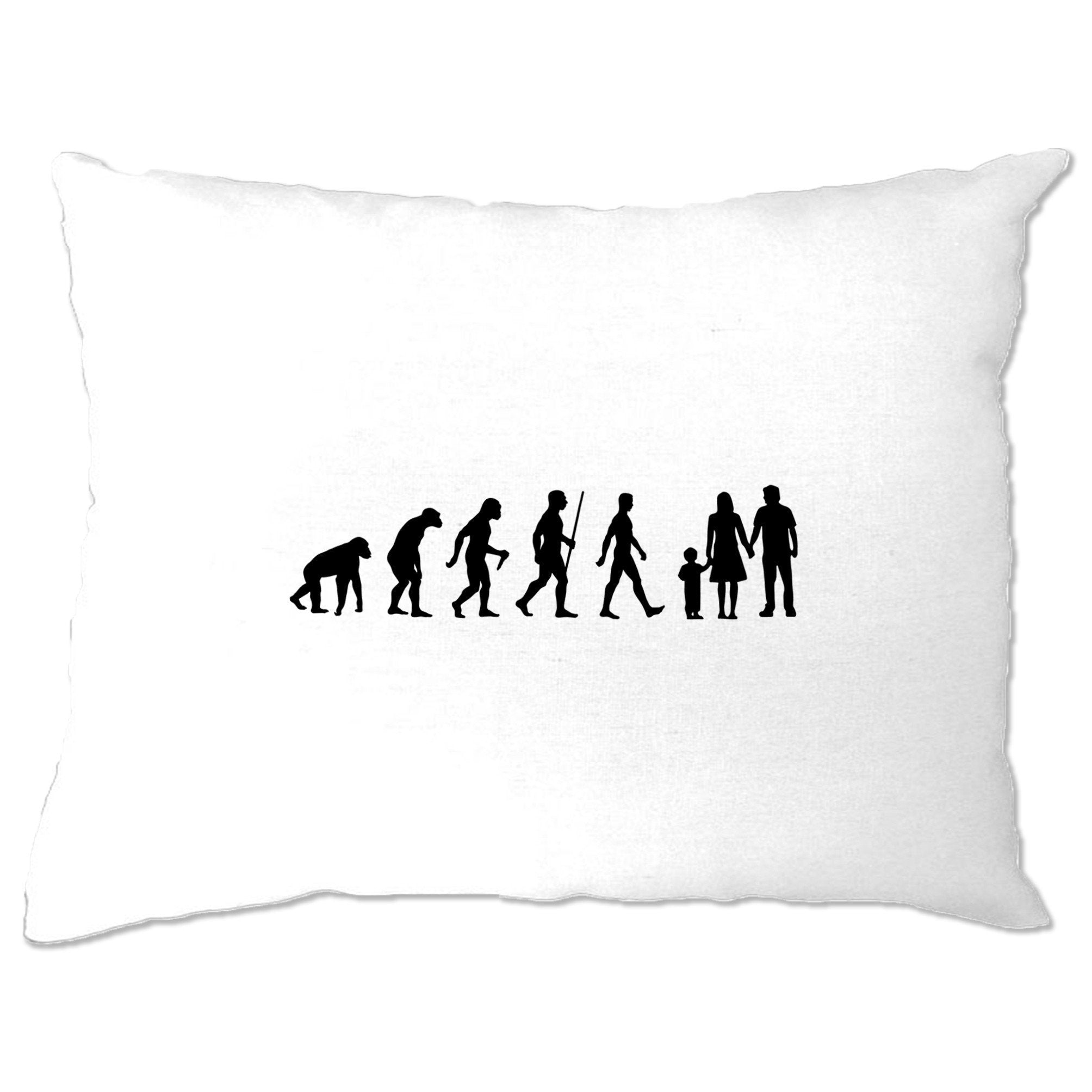 Parenthood Pillow Case Evolution Of A Family Two Boys