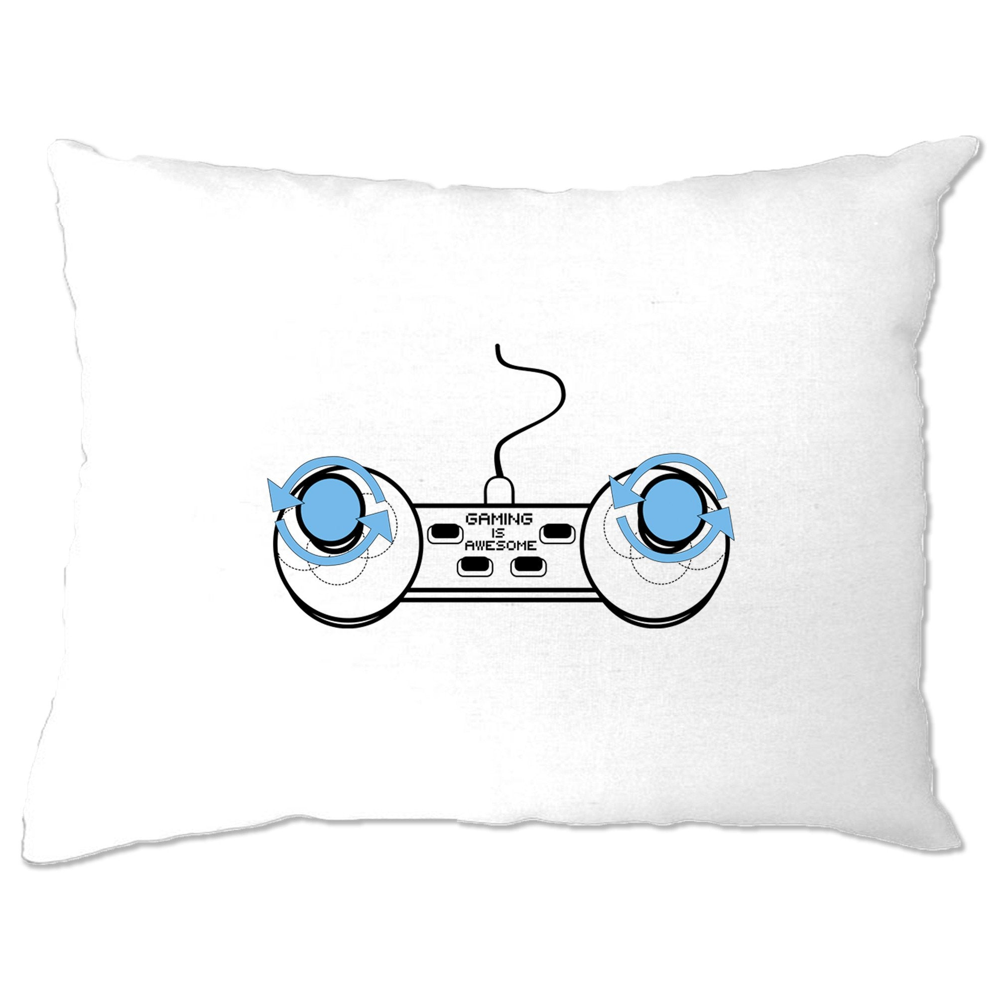 Video Game Pillow Case Gaming Is Awesome Controller