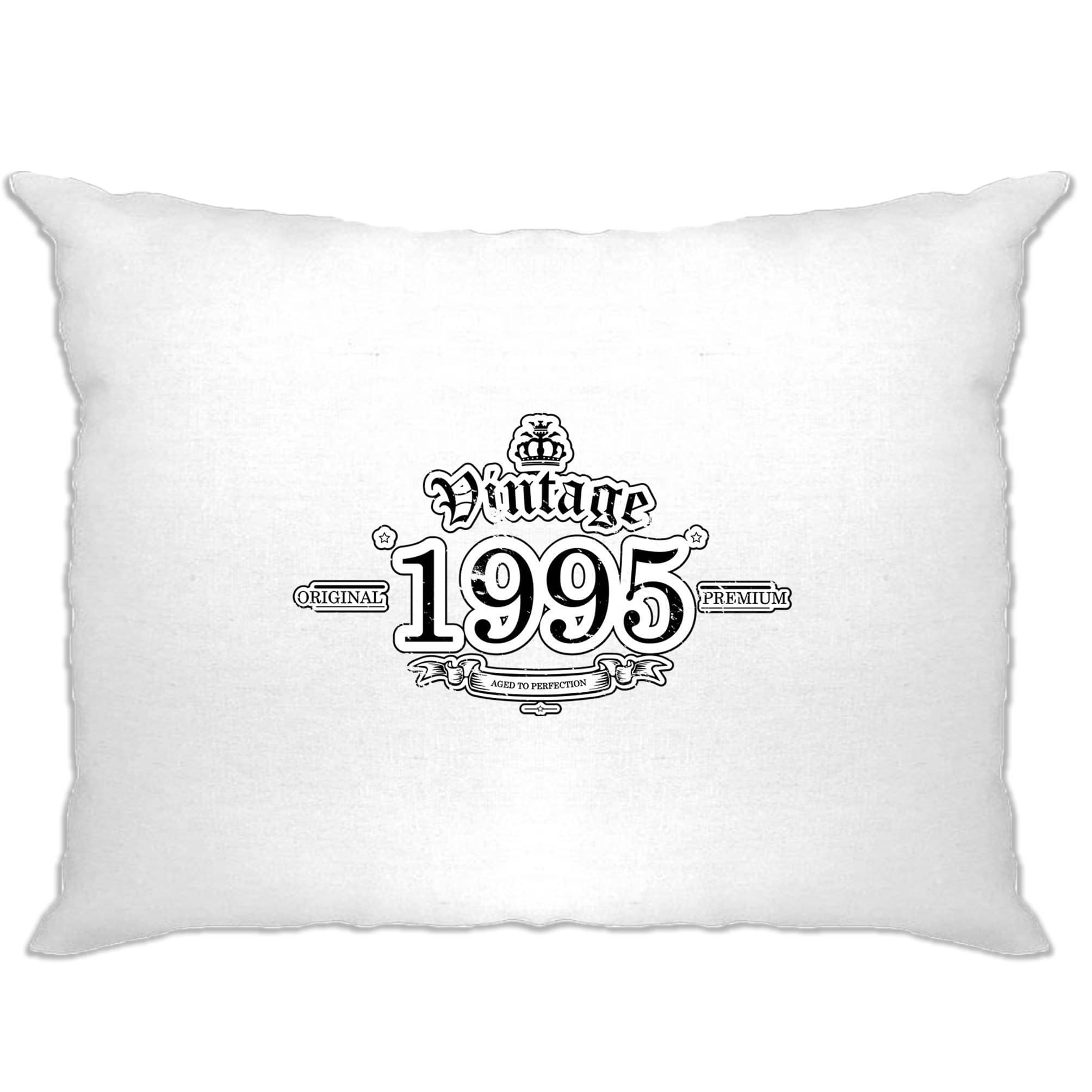 23rd Birthday Pillow Case Vintage 1995 Aged To Perfection