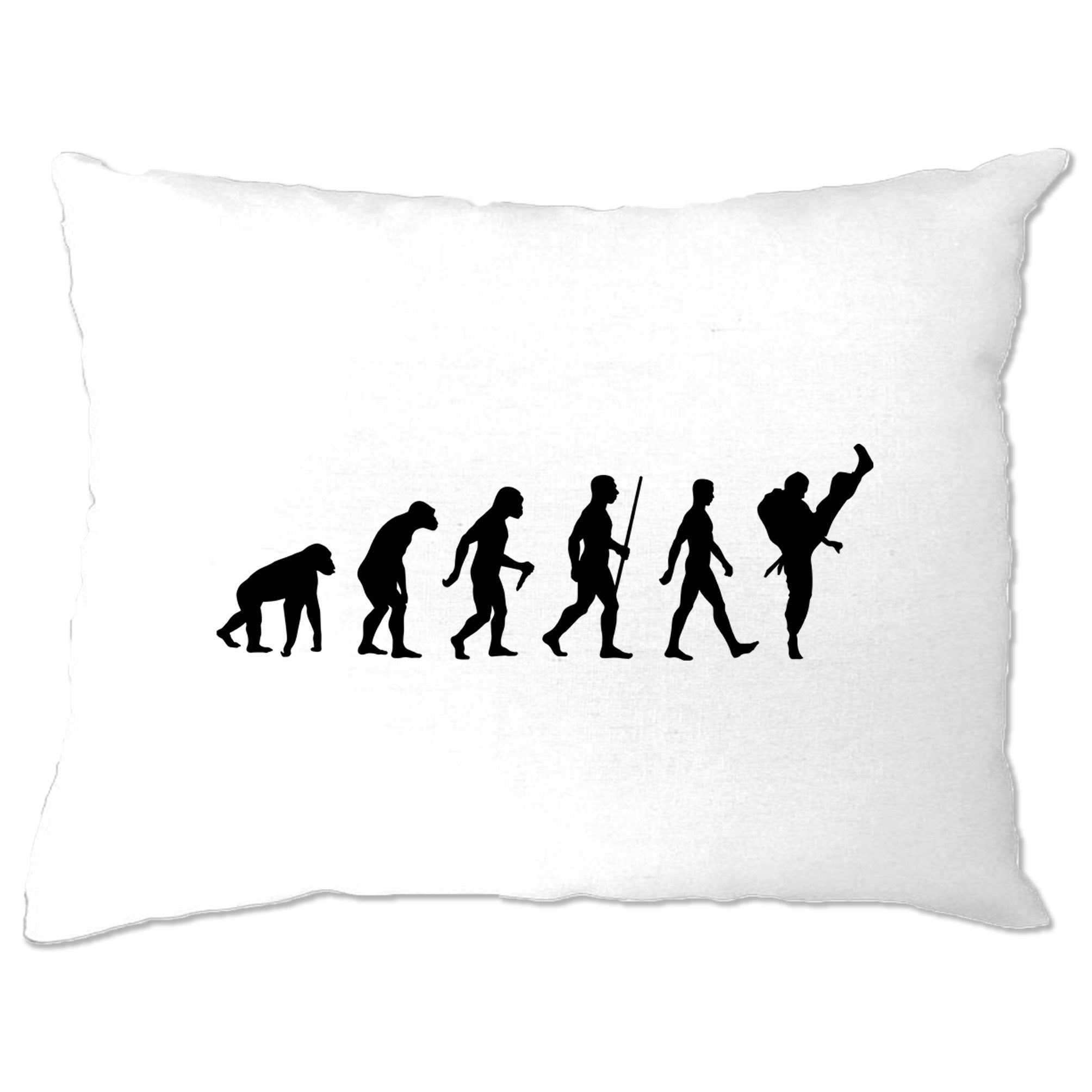 Martial Arts Pillow Case The Evolution Of Karate
