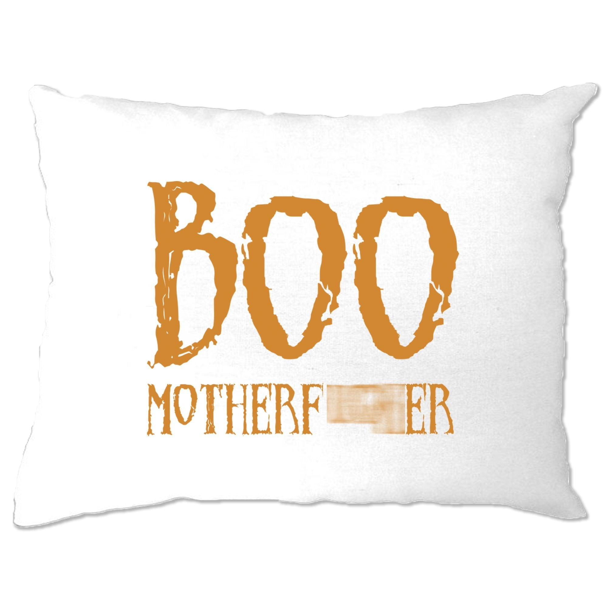 Halloween Novelty Pillow Case Boo Motherfucker