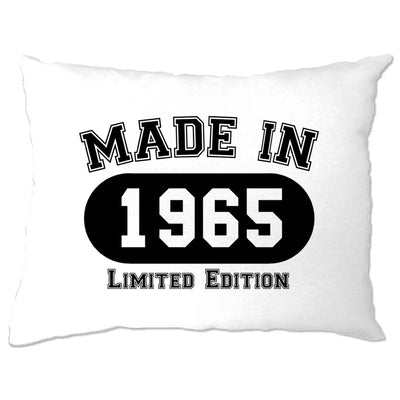Birthday Pillow Case Made in 1965 Limited Edition
